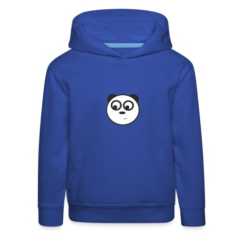 panda face /cara de panda - Sudadera con capucha premium niño