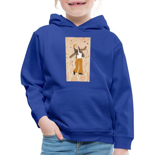 Back to the 70 - 80 or 90's - Pull à capuche Premium Enfant