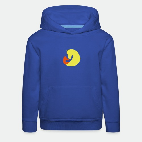 Mare and Foal - color - Kids' Premium Hoodie