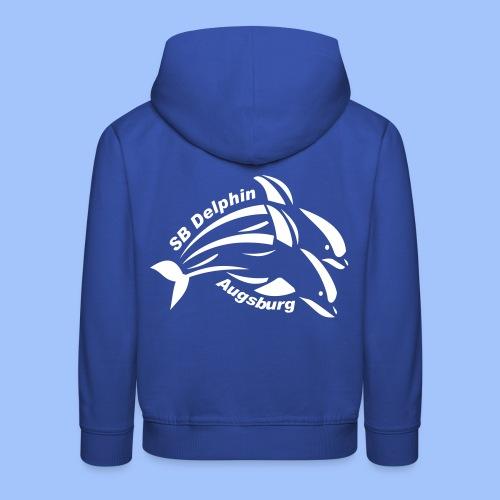 delphin logo - Kinder Premium Hoodie