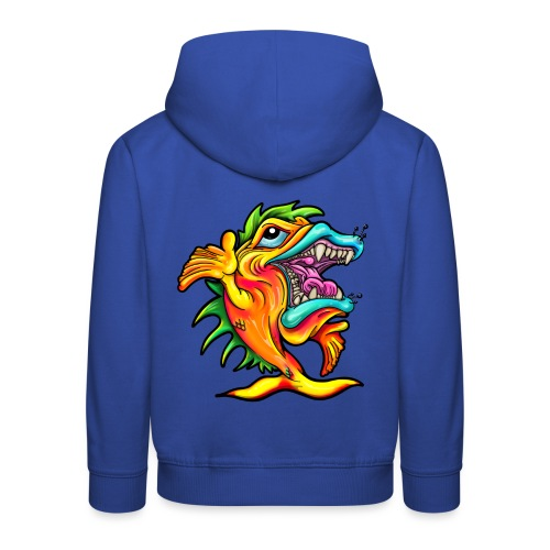 Rock & Roll Singing Fish - Kids' Premium Hoodie