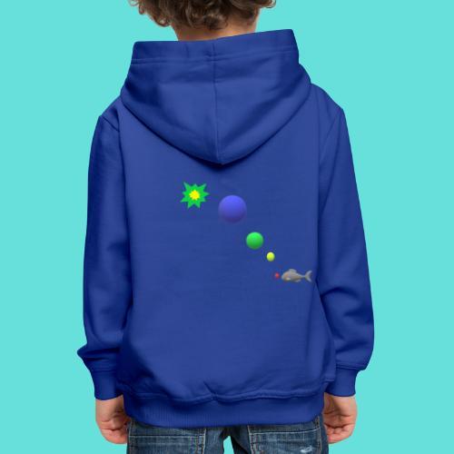 poisson bulle paf - Pull à capuche Premium Enfant