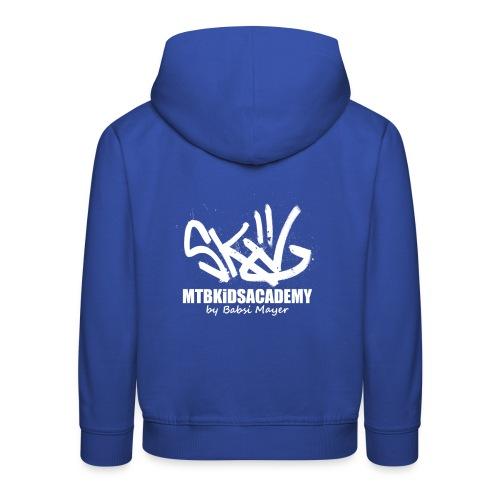mtb kids academy3 white - Kinder Premium Hoodie