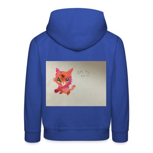 Little pet shop fox cat - Kids' Premium Hoodie
