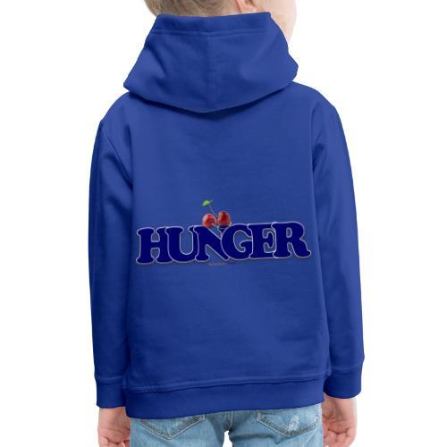 TShirt Hunger cerise - Pull à capuche Premium Enfant