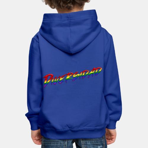 Diversidad Gay - Sudadera con capucha premium niño