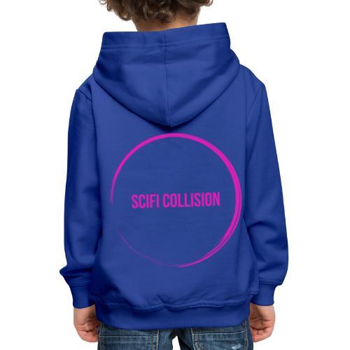 Pink Logo - Kids' Premium Hoodie