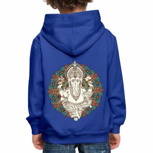 Ganesha - Premium hættetrøje til børn