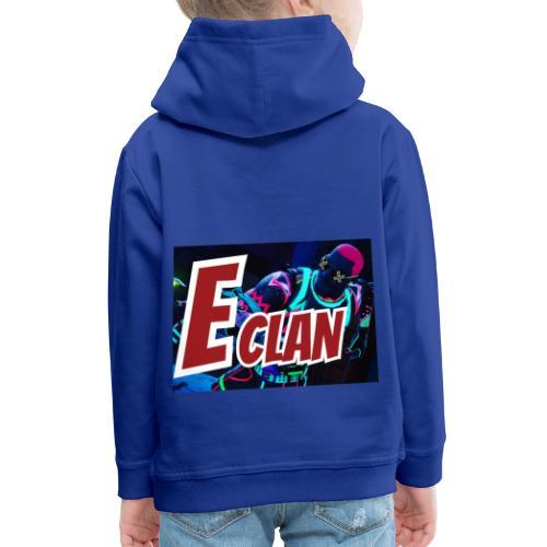 Elite x Clan Turnbeutel - Kinder Premium Hoodie