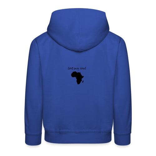 lost my soul in africa - Kinder Premium Hoodie