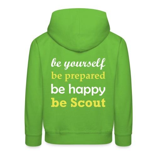 Be Scout - Kids' Premium Hoodie