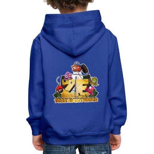 zeTerraAventurier - Pull à capuche Premium Enfant