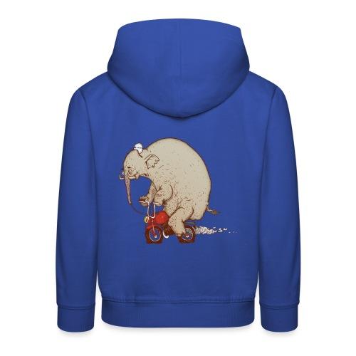 DRUNK ELEPHANT - Bluza dziecięca z kapturem Premium