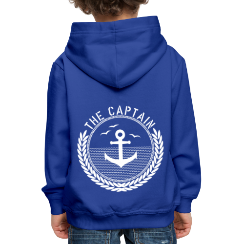 The Captain - Anchor - Kinder Premium Hoodie