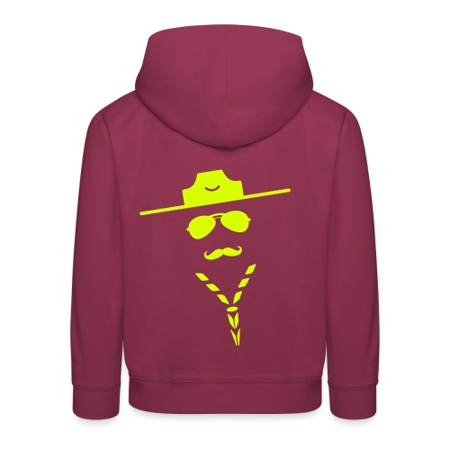 moustache - Kids' Premium Hoodie