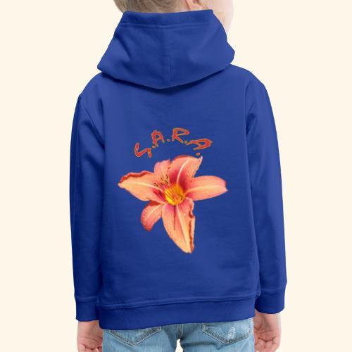 Lilie Blume Garten - Kinder Premium Hoodie