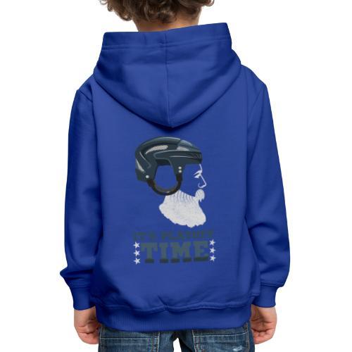Lustiges Cooles Eishockey Geschenk Eishockeyspiele - Kinder Premium Hoodie