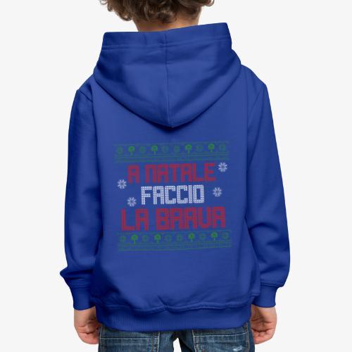 Il regalo di Natale perfetto - Felpa con cappuccio Premium per bambini