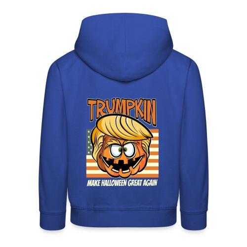 Trumpkin Donald Trump Halloween - Kinder Premium Hoodie