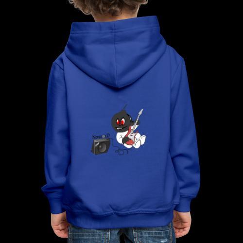 logo guitar - Pull à capuche Premium Enfant