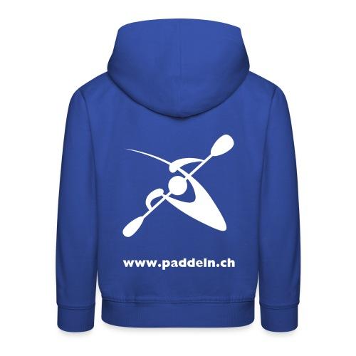 WVZ Rücken 1 - Kinder Premium Hoodie