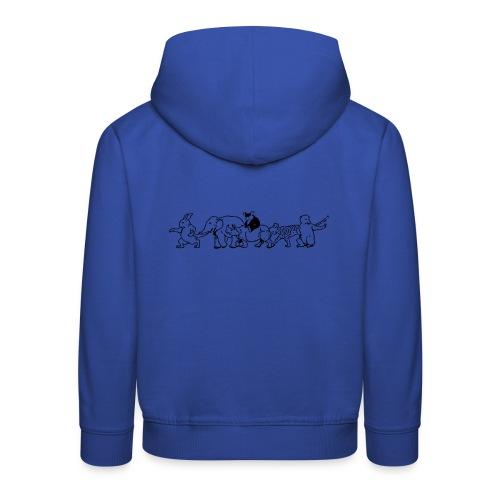 animals - Kinder Premium Hoodie
