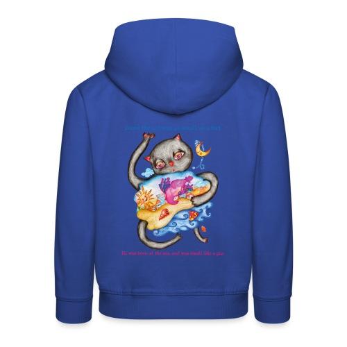Killingen Gumi - Eventyr Kæledyr Kat Killing - Premium hættetrøje til børn