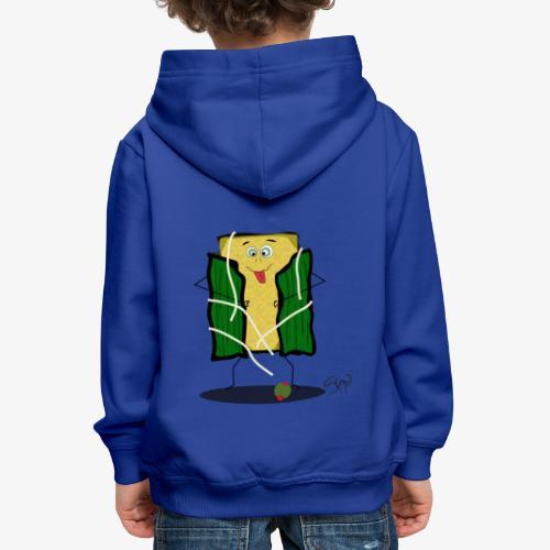 Hallaca Gozona - Sudadera con capucha premium niño