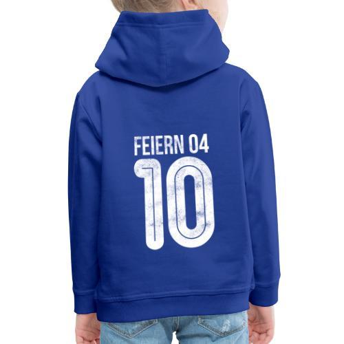 feiern04 | Partyshirt für Fussballer - Kinder Premium Hoodie