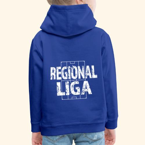 REGIONALLIGA im Fußballfeld - Kinder Premium Hoodie
