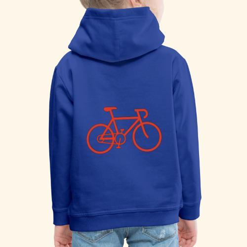 Rennrad, Race-Bike, Fahrrad - Kinder Premium Hoodie