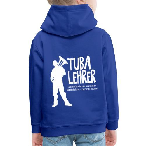 Tuba Lehrer | Tubist - Kinder Premium Hoodie