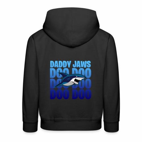 Daddy JAWS - Premium-Luvtröja barn