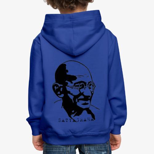 Gandhi Satyagraha - Premium-Luvtröja barn