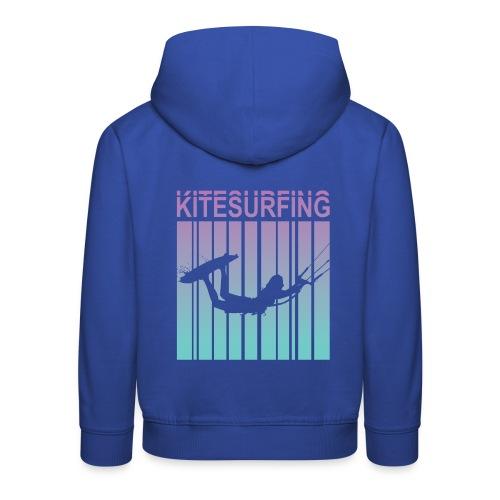 Kitesurfing - Kids' Premium Hoodie
