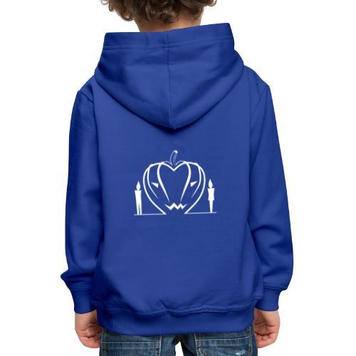 Non aver paura dell'amore... WHITE - Felpa con cappuccio Premium per bambini