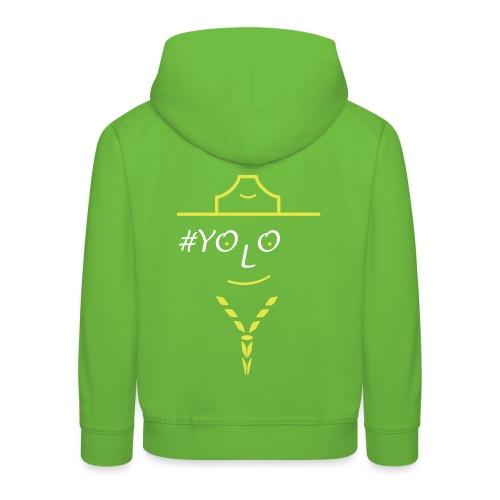 live once be scout - Kids' Premium Hoodie