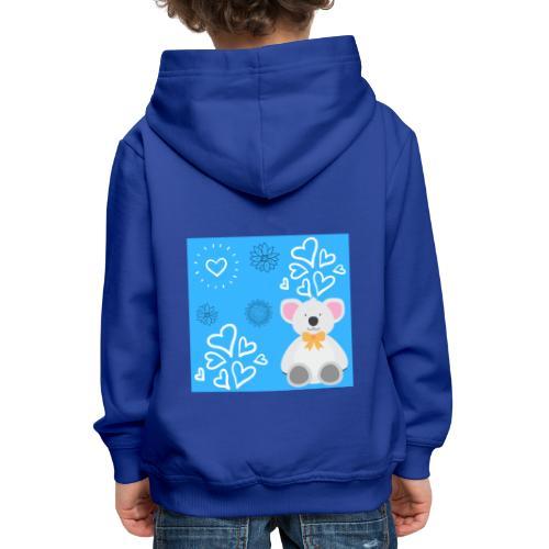 I LOVE ORSETTI - Felpa con cappuccio Premium per bambini