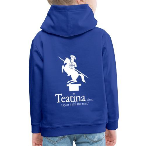 Teatina doc - Felpa con cappuccio Premium per bambini