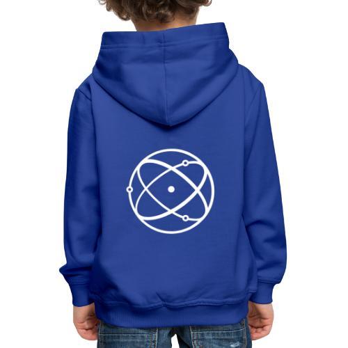 Atom, weiß - Kinder Premium Hoodie