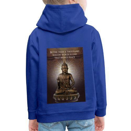 Buddha Wisdom - Kids' Premium Hoodie