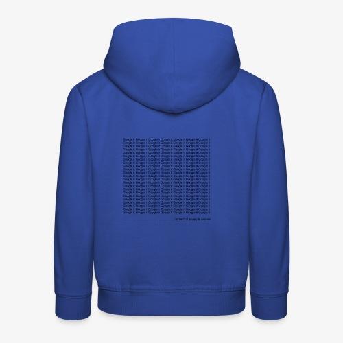 google - Bluza dziecięca z kapturem Premium