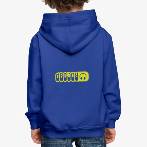 DJ - Sudadera con capucha premium niño