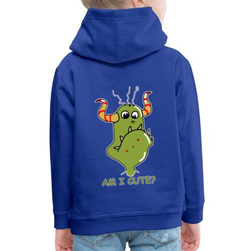 Cute monster - Kids' Premium Hoodie