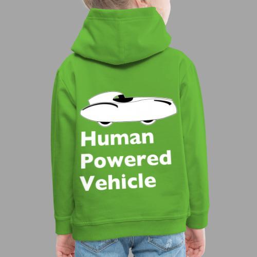 Quattrovelo Human Powered Vehicle white - Lasten premium huppari