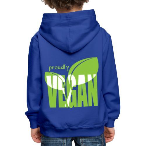 proudly vegan - Kinder Premium Hoodie
