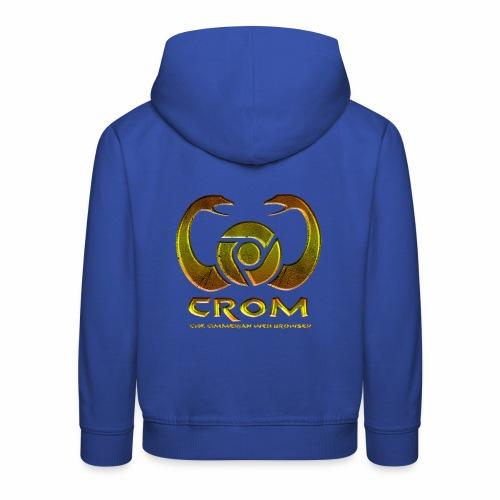 crom - Navegador web - Sudadera con capucha premium niño