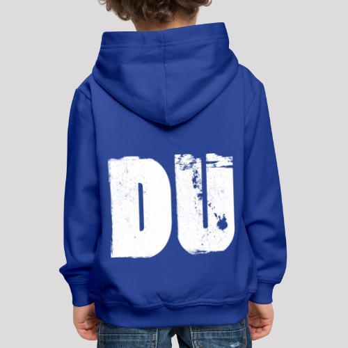 DU - Kinder Premium Hoodie