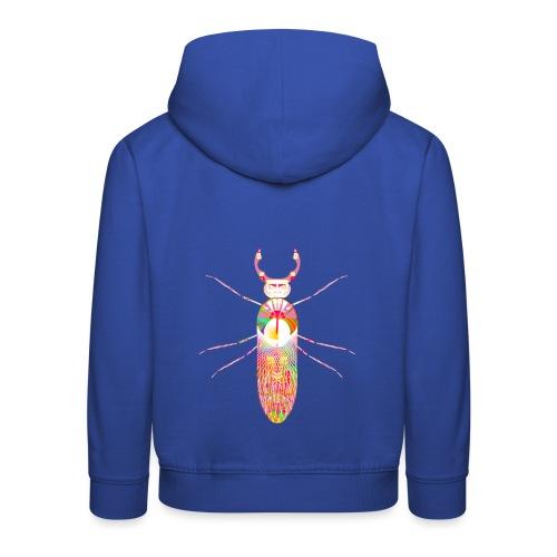 insekt skalbagge med munklor / mandibles rosa - Premium-Luvtröja barn