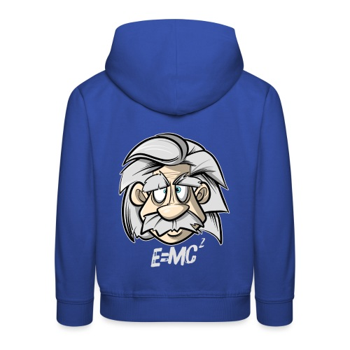 Albert Einstein E=MC2 - Kinder Premium Hoodie